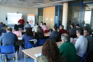 Uno de los seminarios organizados por Código10