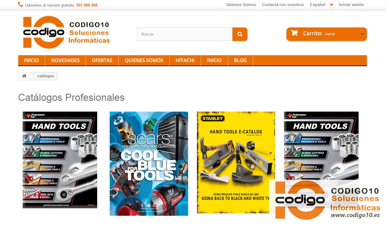 catalogos prestashop