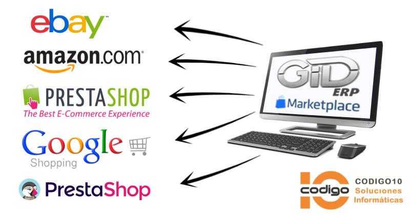 ERP conectado con Marketplaces