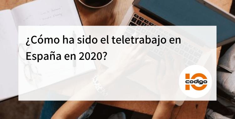 teletrabajo en espana 2020